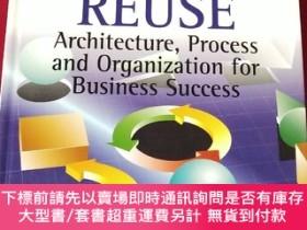 二手書博民逛書店Software罕見Reuse: Achitecture, Process and Organization fo