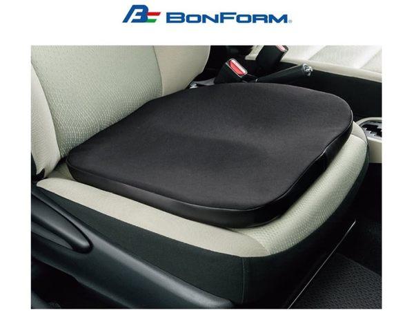 日本 BONFORM 姿勢調整輔助座墊 B5334-43 柔軟坐墊 透氣坐墊 增高墊 網狀鳥眼布材質 汽車坐墊