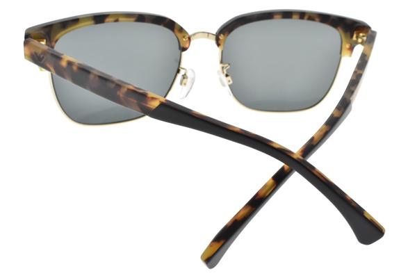 EMPORIO ARMANI 太陽眼鏡 EA2071D 5701-87 (黑金-藍鏡片) 潮流教主眉框款  # 金橘眼鏡