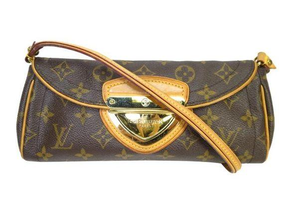 LV LOUIS VUITTON 路易威登 釦式手提肩背包 Pochette Beverly M40122 【BRAND OFF】