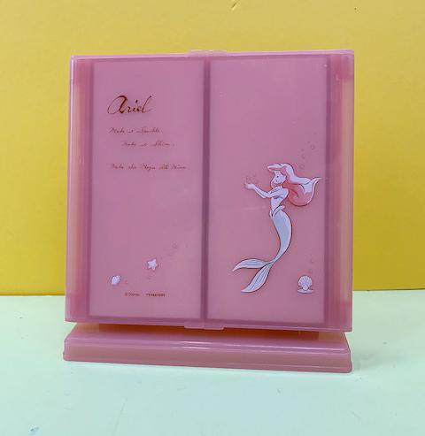 【震撼精品百貨】The Little Mermaid Ariel小美人魚愛麗兒~迪士尼公主系列化妝鏡-粉小美人魚#04682