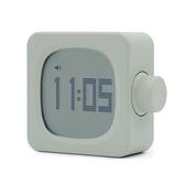 計時器 MUID方塊小鬧鐘簡約夜光靜音床頭充電學生用迷你led時鐘燈多功能【快速出貨八折下殺】