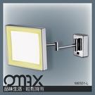 M6501-L --方形單面掛壁LED化妝鏡
