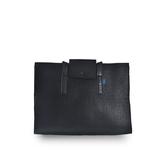 (五折)M.R.K.T. Agnes Shoulder Bag 全黑重磅毛氈長背帶側背包-528500B BLACK(黑色)