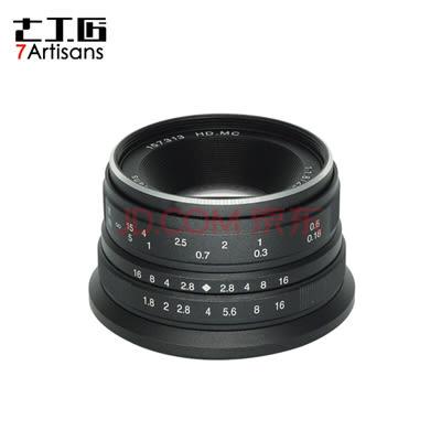 限時免運 七工匠 25mm F1.8 for Sony E mount 微單鏡頭 黑色
