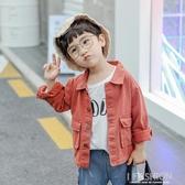 兒童牛仔外套男童2019新款韓版寶寶長袖上衣中小童春秋夾克童裝潮-Ifashion