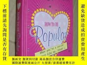 二手書博民逛書店How罕見to be Popular 精裝大32開Y146810 Meg Cabot 著 Macmillan
