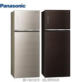 Panasonic 國際牌【NR-B481TG】 485公升變頻雙門玻璃冰箱