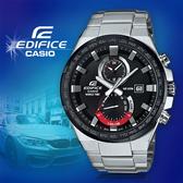 CASIO手錶專賣店 卡西歐  EDIFICE EFR-542DB-1A 男錶  防水100米 二圈設計 三針顯示 倒數計時 不鏽鋼錶帶