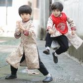 男童唐裝寶寶拜年服冬兒童漢服童裝中國風新年裝小孩過年喜慶衣服 【快速出貨】