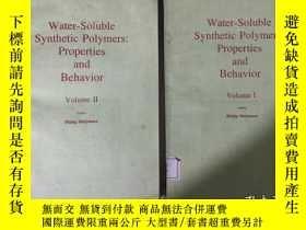 二手書博民逛書店Water-Soluble罕見Synthetic Polymer