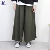 【秋冬新品】American Bluedeer - 素面鬆緊寬褲 二色