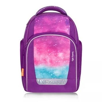 三年級四年級五年級護脊書包 TigerFamily彩虹超輕量護脊書包-神秘紫 兒童書包