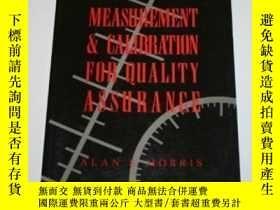 二手書博民逛書店Measurement罕見And Calibration For Quality Assurance-質量保證的測