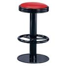 ONE HOUSE-摩登高吧台椅(紅)