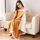 法蘭絨毛毯辦公室單人午睡毯珊瑚搭搭毯學生空調毯披肩毯沙發蓋毯xx8666【Pink中大尺碼】TW