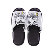 HOLA 史努比 Snoopy系列刺繡針織拖鞋-L