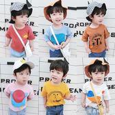 新款男女童寶寶短袖卡通T恤兒童打底衫嬰幼兒透氣上衣潮艾美時尚衣櫥