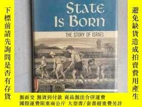 二手書博民逛書店A罕見STATE IS BORN:The story of Is