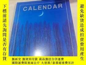 二手書博民逛書店CALENDAR罕見2001Y200392