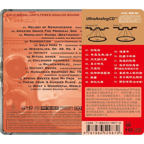 【停看聽音響唱片】【CD】模擬立體聲錄音I:最經典