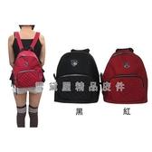 【南紡購物中心】COUNT 後背包中型容量進口防水尼龍布+皮革主袋內四分類袋二拉插筆袋口