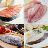 【南紡購物中心】【賣魚的家】清蒸海鮮魚片大四喜8片組 (加贈清蒸汁)