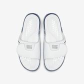 Nike Jordan Hydro 11 [AA1336-102] 男鞋 運動 休閒 涼鞋 拖鞋 魔鬼氈 舒適 喬丹 白藍