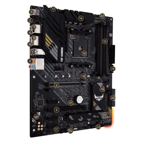 華碩 ASUS TUF GAMING B550-PLUS AMD 主機板