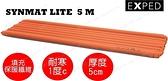 【速捷戶外】瑞士 EXPED 超輕量吹氣式全身化纖空氣睡墊(立體)SYNMAT Lite 5 M 登山睡墊. 32205352