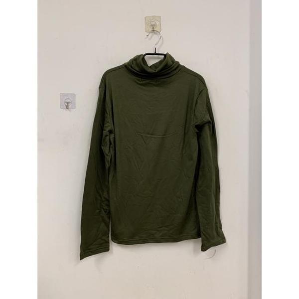 簡約半高領打底衫內搭洋氣百搭緊身上衣長袖T恤(S號/777-7649)