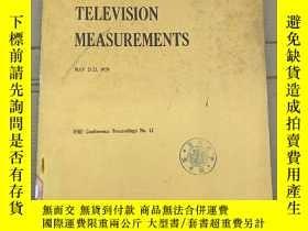 二手書博民逛書店television罕見measurements(P2696)Y173412