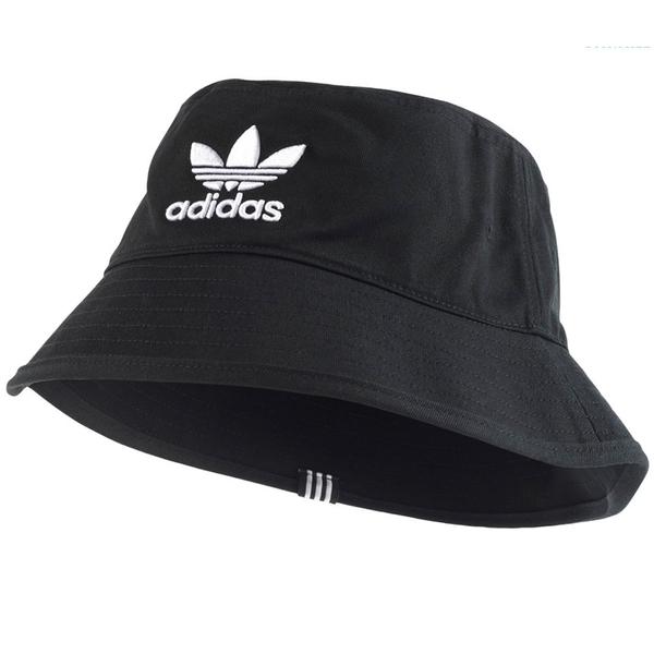 ★現貨在庫★ ADIDAS Originals Bucket Hat 帽子 漁夫帽 流行 休閒 三葉草 刺繡 黑 【運動世界】BK7345