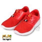 New Balance 迪士尼聯名款 亮紅 套入式 運動鞋 中大童 NO.R3426
