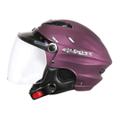 【東門城】ZEUS ZS125E 素色(消光暗紫)半罩式雪帽