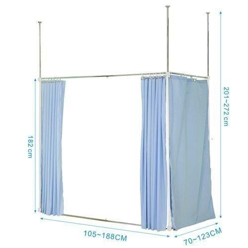 【中華批發網DIY家具】S-17-06-一字延伸型伸縮防塵屏風
