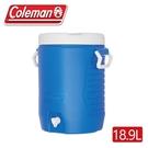 【Coleman 美國 18.9L 保冷飲料桶】CM-33403/ 保冰袋/冰桶