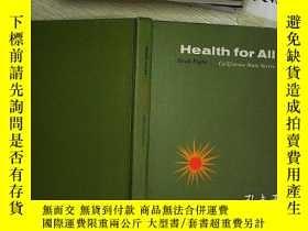 二手書博民逛書店HEALTH罕見FOR ALLY203004