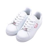 卡娜赫拉 釦飾休閒板鞋 白 KI8382 女鞋