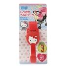 【震撼精品百貨】Hello Kitty 凱蒂貓~ 凱蒂貓 KITTY 嬰兒推車魔鬼氈式掛勾(紅色/可承重2KGS) #57628