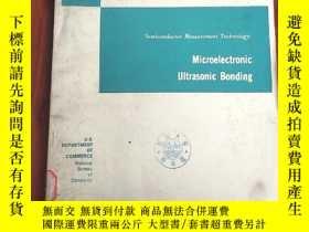 二手書博民逛書店microelectronic罕見ultrasonic bonding(P3050)Y173412