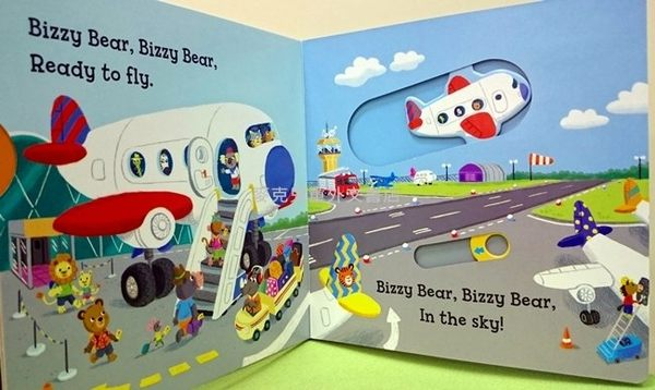 【Bizzy Bear 可愛操作書】BIZZY BEAR: OFF WE GO /硬頁書