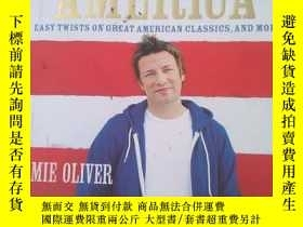 二手書博民逛書店jamie s罕見america easy twists on
