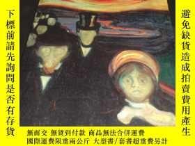 二手書博民逛書店2手英文罕見Becoming Edvard Munch: Inf