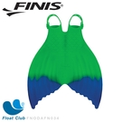 FINIS 成人款矽膠雙色漸層美人魚鰭(綠藍) 游泳魚蹼裝 美人魚蹼 游泳訓練 游泳蛙蹼