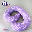 【PAC003】花漾超厚實多功能孕婦側睡枕/哺乳枕 U型枕