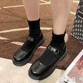 小皮鞋女夏ins潮2021新款日系jk洛麗塔圓頭網紅英倫風瑪麗珍單鞋