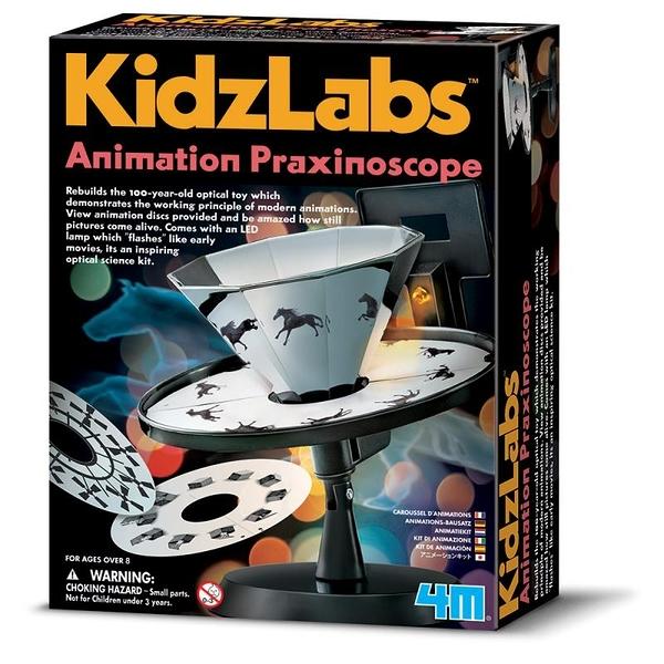 【4M】00-03255 科學探索系列 動畫世界 Animation Praxinoscope