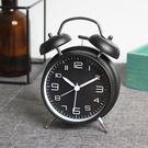 鬧鐘機械超大聲可愛鬧鐘創意簡約學生靜音臥室床頭起床神器