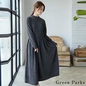 ❖ Hot item ❖ 優雅打褶裙擺連身裙 - Green Parks